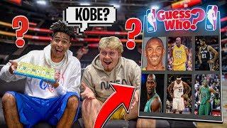 Guess That NBA Player vs. Jiedel - INSANE Guess Who #3