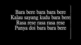 Gambar cover Bara Bere Siti Badriah  lyrics