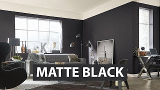Colors We Love: Matte Black - Sherwin-Williams