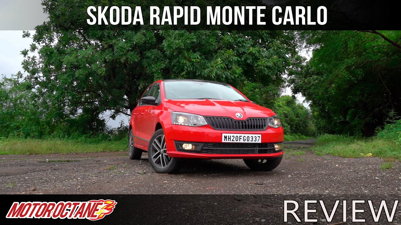 Motoroctane Youtube Video - Skoda Rapid Monte Carlo Review | Hindi | MotorOctane