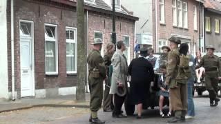 Impressie opnamemoment Schaduwspel in Hoogstraat Oisterwijk