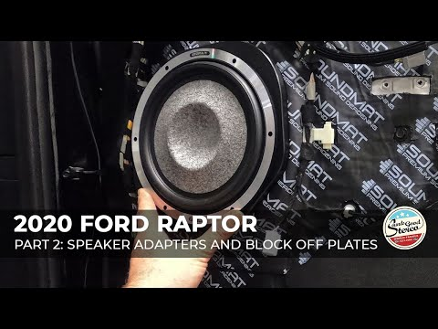 2015-2020 Ford F-Series Truck Custom Speaker Adapters