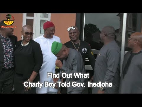 Iberiberism Has Been Buried In Imo State - Gov Ihedioha & Charly Boy.