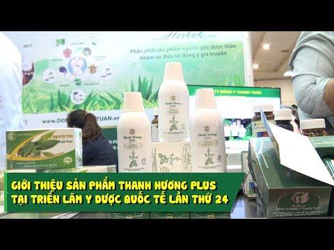Giới thiệu sản phẩm Thanh Hương Plus tại triển lãm Y Dược Quốc Tế Lần thứ 24