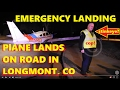 AIRPLANE LANDS ON HOVER in Longmont, CO ...