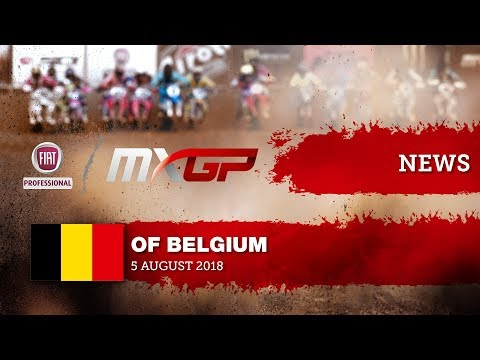 NEWS HIGHLIGHTS - Fiat Professional MXGP of Belgium 2018 #motocross