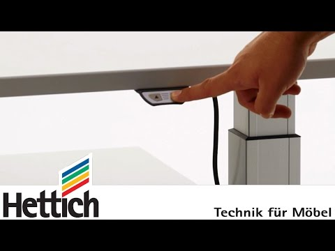 Hettich LegaDrive Systems: Tips for safe and convenient height adjustment of desks