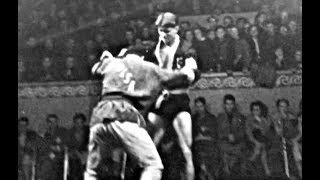 1957 год - I Международный турнир между самбистами СССР и дзюдоистами Венгрии