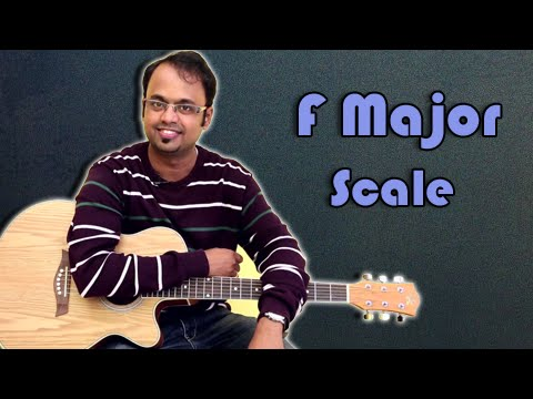 How To Play - F Major Scale - Guitar Lesson For Beginners