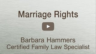 What are your rights as a married person?