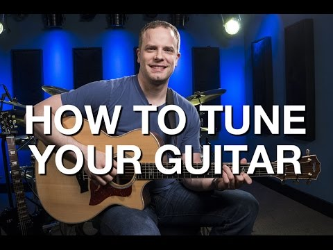 How To Tune Your Guitar - Beginner Guitar Lesson #6