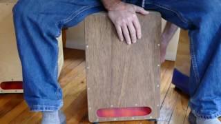 Firebox Cajon - A Box Drum with Huge Bass and Resonance
