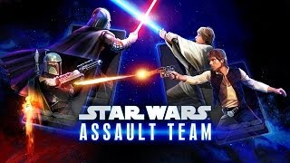 STAR WARS: ASSAULT TEAM (iPhone, iPad & Android Gameplay) HD