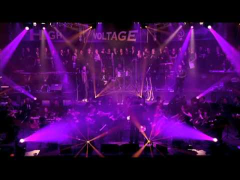 "HIGH VOLTAGE SYMPHONY  "" The Crown And The Ring - MANOWAR"""