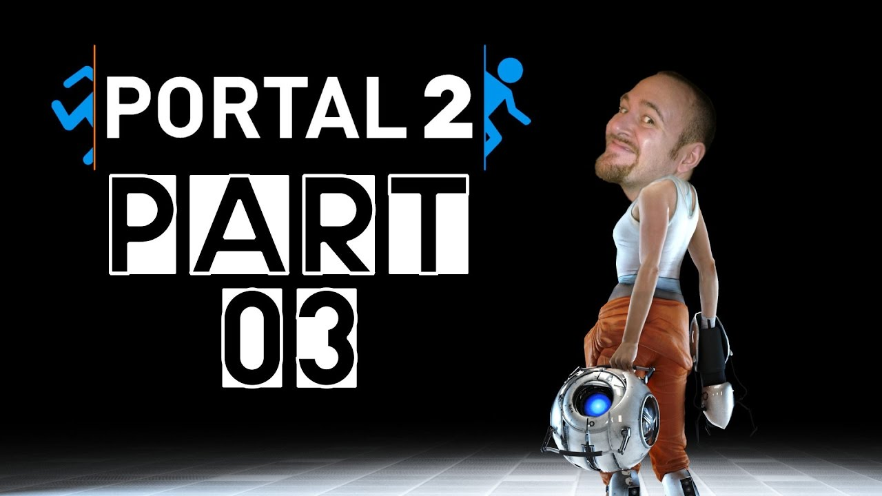 [Let's Play] Portal 2 – Part 03: Katapulte!