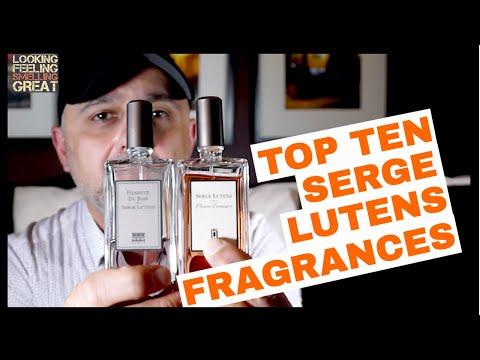 Top 10 Serge Lutens Fragrances, Perfumes + Serge Lutens Boutique Visit | Best Serge Lutens Perfumes