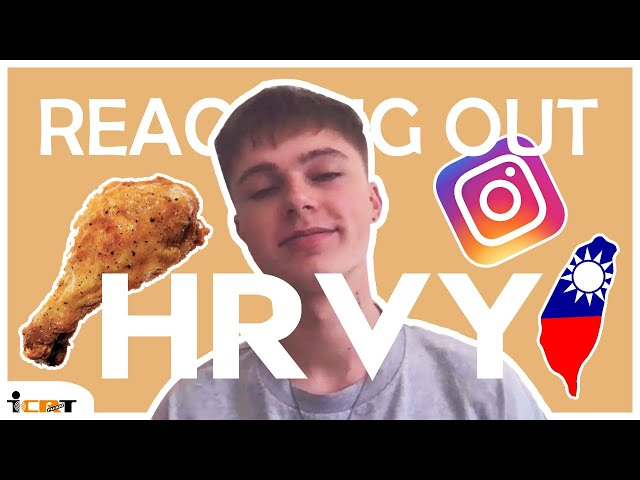 HRVY talks food, his fans, and most embarrassing moments