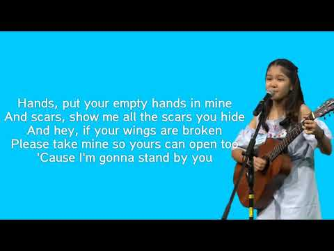 Rachel Platten - Stand By You ( Lirik ) By Charisa Faith Idol Junior 2018 Mp3