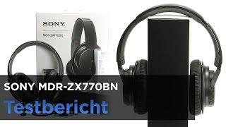 Sony MDR-ZX770BN im Test - Bluetooth-Kopfhörer mit Noise-Canceling