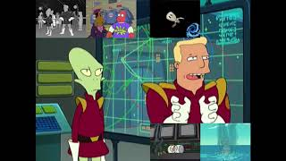 "[Futurama] Zapp Brannigan - ""Stop Exploding You Cowards!"" Sparta Remix"