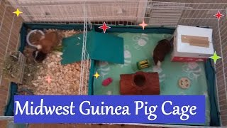 Midwest Guinea Pig Cage|| Unboxing And Setup