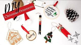 10 DIY CHRISTMAS ORNAMENTS