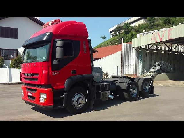 Vídeo do caminhão Stralis 380 6x2