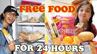 living for FREE for 24 hours | clickfortaz