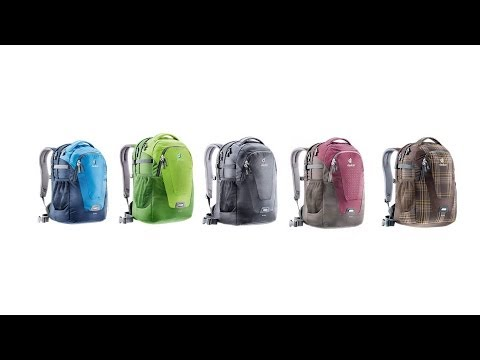 Видео о Сумка Deuter Giga цвет 2322 alpinegreen-navy 3821018 2322