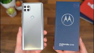 Motorola One 5G Ace Unboxing!