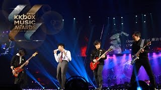 JJ Lin (林俊傑) and Mayday (瑪莎/怪獸/石頭) tribute to David Bowie, Prince and George Michael