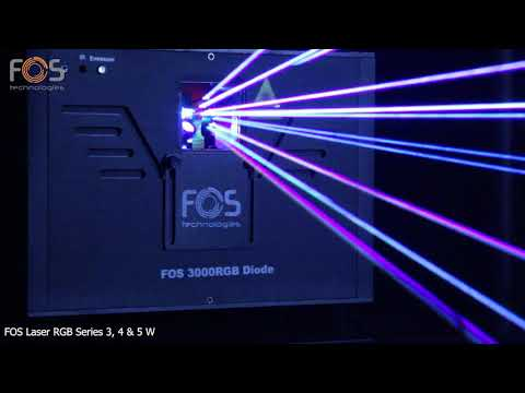 FOS 4000RGB Animation Laser