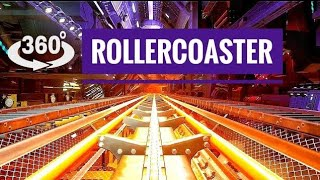 Amazing VR Roller Coaster 360 degree in Virtual Reality 4K VR 360