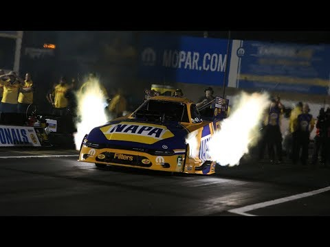 Ron Capps resets both ends of the track record at Maple Grove