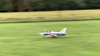 First flight - Freewing L-39 Albatross FPV with headtracker