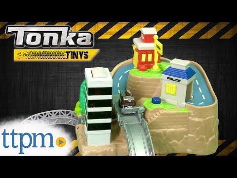 Tonka Tinys City Rescue Playset from Funrise