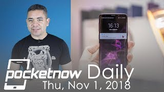 Galaxy S10 with pressure sensitive features