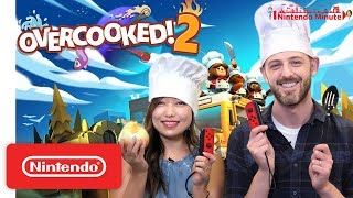 Overcooked! 2 Kitchen Duel: 👨‍🍳 vs. 👩‍🍳 - Nintendo Minute - dooclip.me