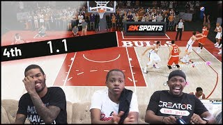 A Chance To Win The Game With 1.1 SECONDS LEFT! - NBA2K19 MyTeam Battles Ep.12