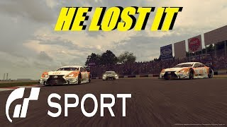 GT Sport He Lost It - GR.2 Daily Race