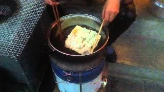 preview picture of video 'Chinese Street Food Adventures - Deep Fried Cheese'