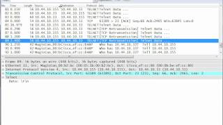 Observing TCP retransmissions with Wireshark