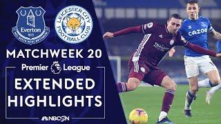 Everton v. Leicester City | PREMIER LEAGUE HIGHLIGHTS | 1/27/2021 | NBC Sports