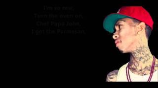 I'm So Raw - Tyga // Lyrics On Screen [HD]