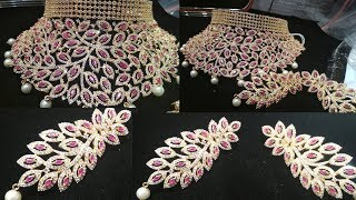 Latest Indian Jewelry Designs ৷৷ Artificial,Kundon, Diamon Cutting Jewellery Collection 2019