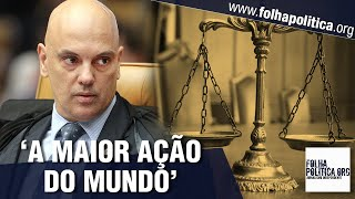 Advogados propõem 'maior ação do mundo' contra arbitrariedades de Alexandre de Moraes