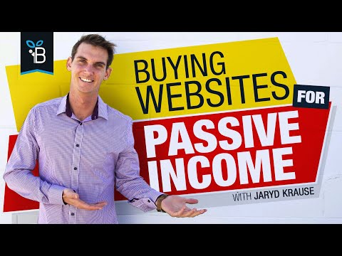 How To Start Buying Websites For Passive Income (FOR TOTAL BEGINNERS)