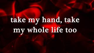 CAN'T HELP FALLING IN LOVE - (Lyrics)