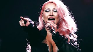 Christina Aguilera - Medley (Live Russian Music Awards) HD