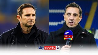Gary Neville reacts to Frank Lampard's sacking by Chelsea